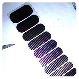 Jamberry nail wraps Black lights